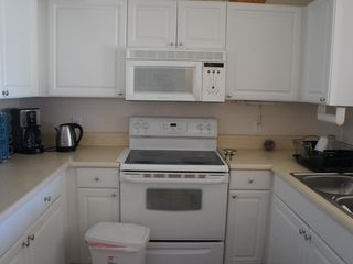 Fort Myers condo photo - Fully equipped kitchen, with coffee maker, water boiler, crock pot, blender