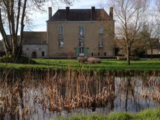Saint-Georges-sur-Erve chateau / country house photo - Wonderful in all seasons!