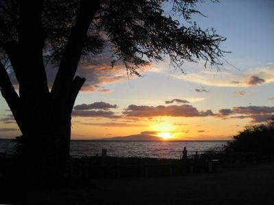 Wailea condo rental - Kamaole 3 Beach Park directly across the street