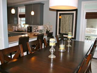 Crystal Shores house photo - Gather around the new dining set that seats 10! Great for feasts and game night!