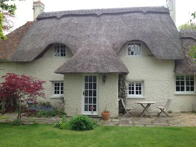 350 Year Old Thatched Cob Cottage - summer rentals from May to November