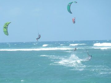 kitesurf fly academy kite or surf right in front of the property