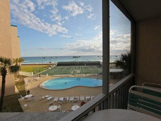 Holiday Surf and Racquet Club Destin condo photo - Balcony view