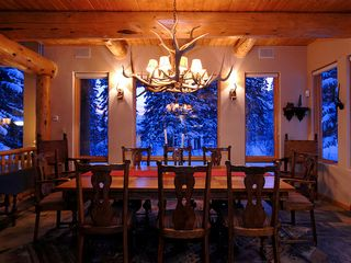 Four O'Clock Breckenridge house photo - Milano Meadows - Dining Room with seating for 10 people