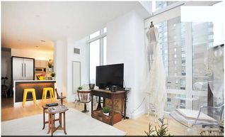 Theater District apartment photo - floor to ceiling windows in every room...
