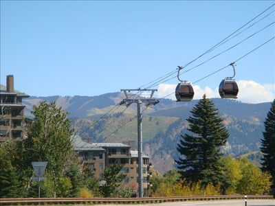 Walk or shuttle over to Avon's Gondola just minutes away.