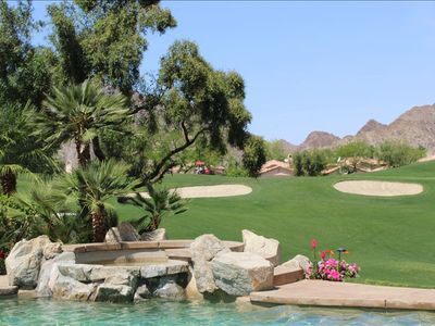 La Quinta house rental - View of the Robert Trent Jones golf course
