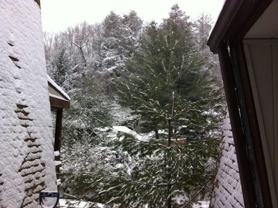 Sugar Mountain chalet rental - From front door