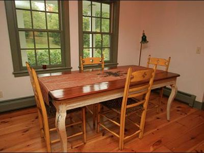 Stowe house rental - Dining Area