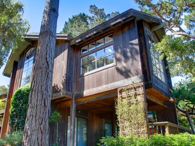 Exterior of this Beautiful Pebble Beach home