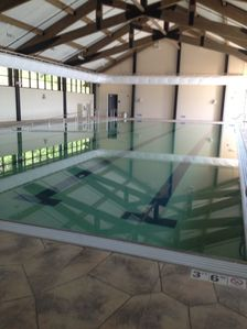 New Indoor pool. Swim all year long!