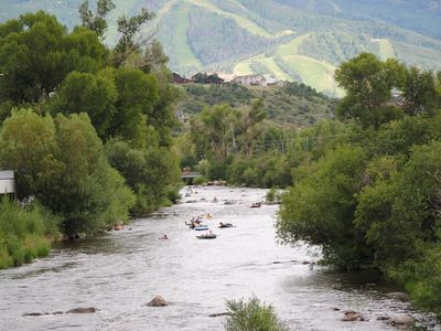 Enjoy floating down the Yampa River. Walk or bike the Yampa River Core Trail.