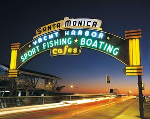 Santa Monica studio photo - Santa Monica Pier in Santa Monica, California