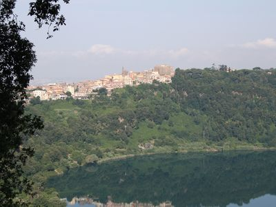 Genzano seen from Villalba.