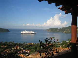 Zihuatanejo condo photo - Living Room Terrace View