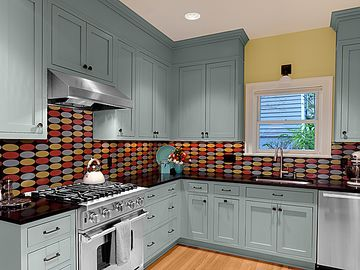 New kitchen remodeled kitchen by published design/contractor Lynne White!