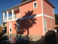 Nice!!! 3 BR+Bunk, 3BA, Large Private Pool, Walk to Beach