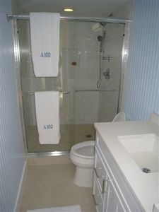 Ground floor 3rd bathroom with extra large shower