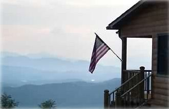 Bryson City cabin rental - America the Beautiful!