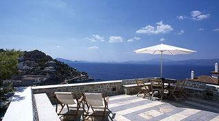 Hydra Island villa photo - Relax in the sun on terrace