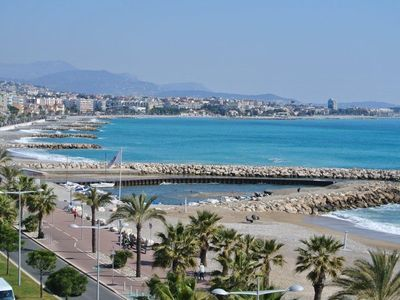 Beautiful appt 3p conditioning 70M2, waterfront Cagnes sur Mer, racecourse