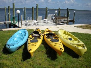 Key Largo house photo - Free use of our kayaks (tandem and single person) and life jackets.