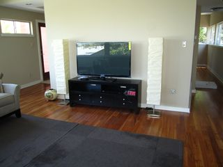 51 inch flat screen TV, with full cable and DVD player. - Austin house vacation rental photo