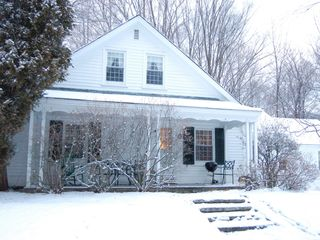 Townshend house photo - In winter