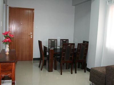 Living Area with dining table