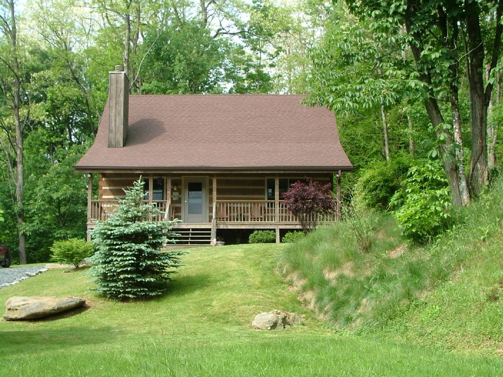 Check for Elevated log cabin