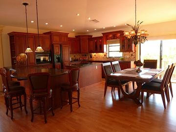 Stay part of the action while cooking. Kitchen is open to the living room.