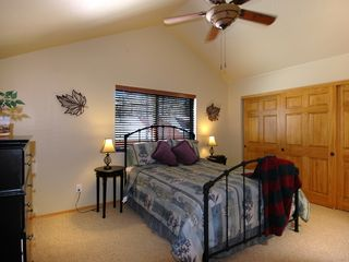 Pinetop cabin photo - This room is now updated with a full King Bed. New Picture coming soon!