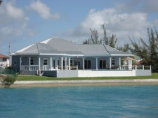 Grand Bahama Island villa photo - Villa Caribe Treasure and Coco Channel. View from Princess Isle