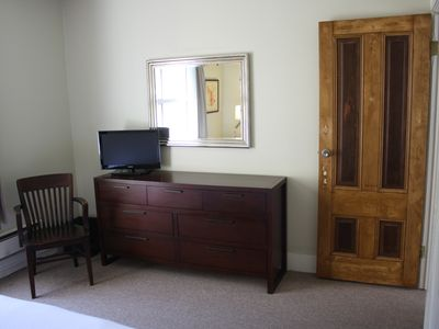 Master bedroom TV and dresser