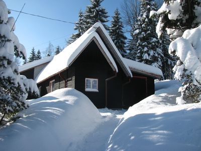 Holiday in the Ore Mountains with panoramic views to Auerberg
