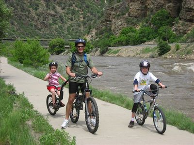 Take the family on a bike ride