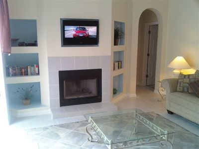 Westridge villa rental - Flat screen TV's in family room and both masters