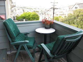 San Francisco apartment photo - Outside sitting area with a city view