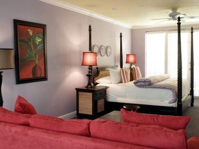Top Floor Master Bedroom Suite