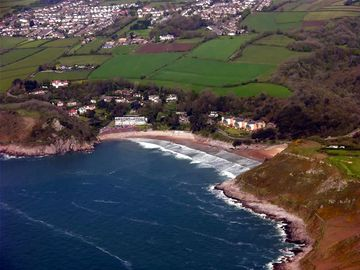 Caswell Bay from the Air