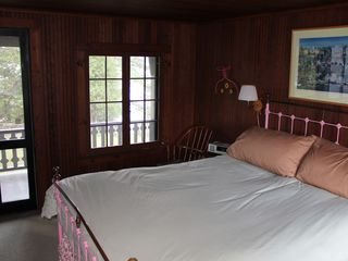 Clayton house photo - Queen bed on 2nd floor