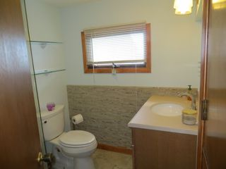 Point Judith house photo - Brand new remodeled bathroom with tile flooring.