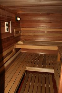 Our five person sauna