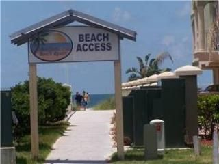 Private Beach Access directly across street