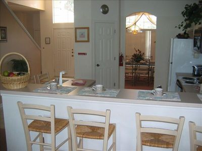 Hampton Lakes villa rental - Breakfast bar