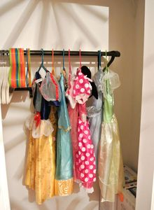 Princess dresses for all the little ladies - feel free to wear them to the park!