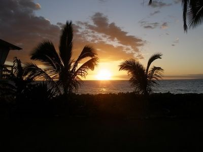 Sunset from Kamaole 1