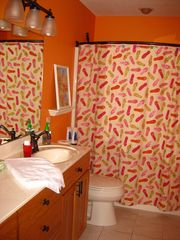 Amery house photo - Main floor bathroom