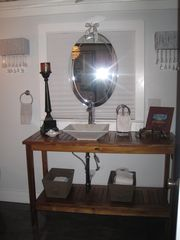 Ocean Springs cottage photo - Vanity area in NOLA Cottage.