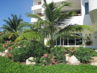Isla Mujeres condo photo - Fabulous landscaping throughout the property